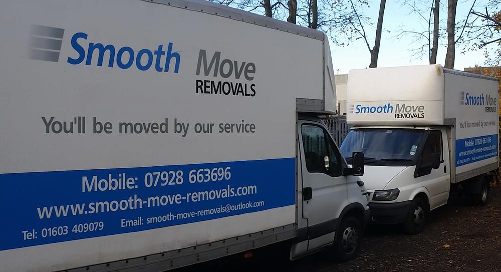 Norwich removals vans