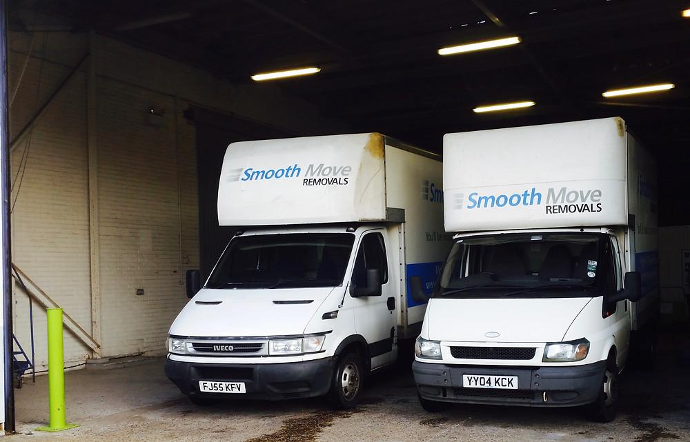 Norwich man with a van in storage