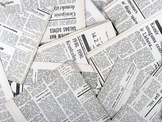 Removals Tip Of The Week: #18 Beware Of Newsprint
