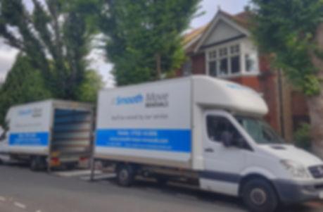 Luton vans house move