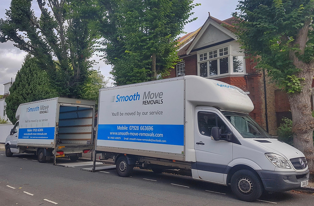 removal vans working