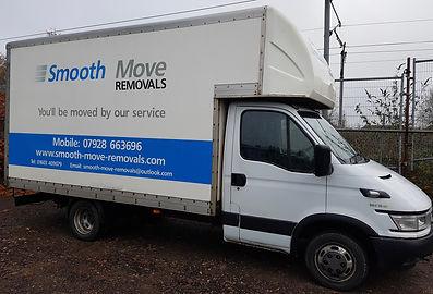 Large Removals Van