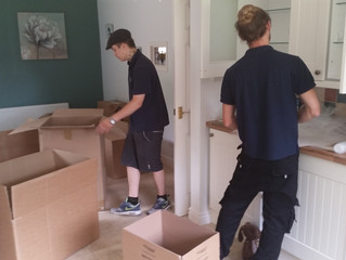 Removals Tip Of The Week: #5 Boxes & Packing Materials