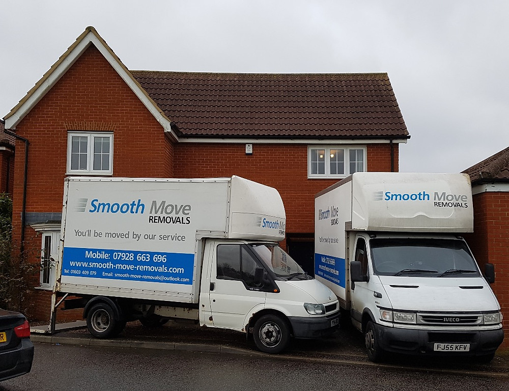 Norwich Removals Vans