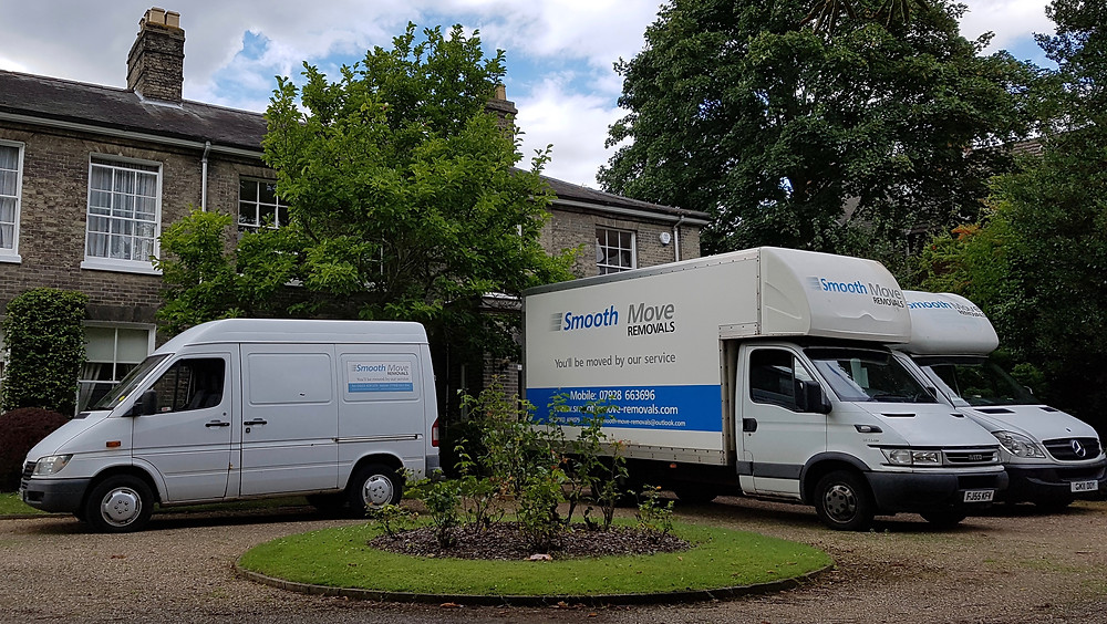 removal company vans