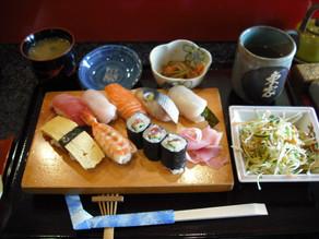 お寿司ランチin東家