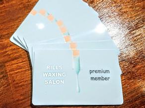 premium member cardができました