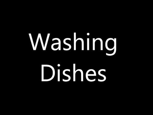 The Washing the Dishes Meditation Audio Module