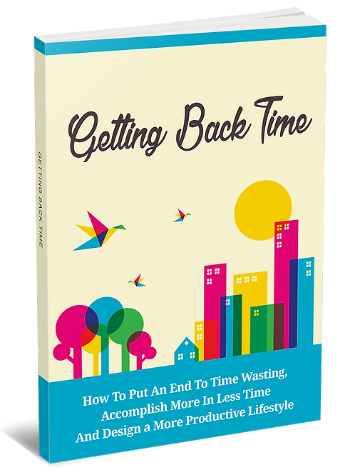 Getting Back Time eBook