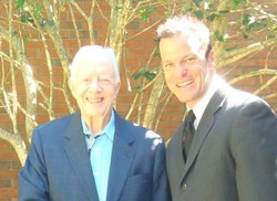 President Carter and I