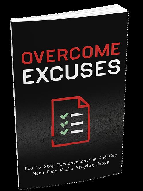 Overcome Excuses eBook