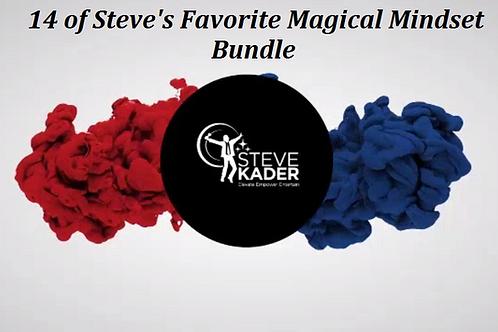 14 of Steve's Favorite Magical Mindset Minute Bundle