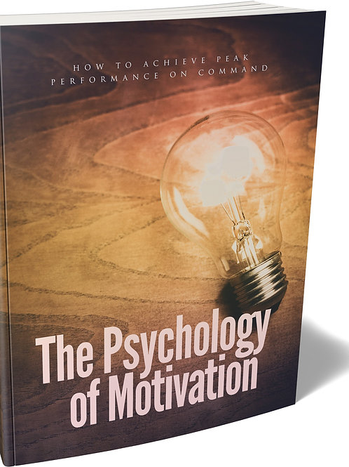 The Psychology of Motivation eBook