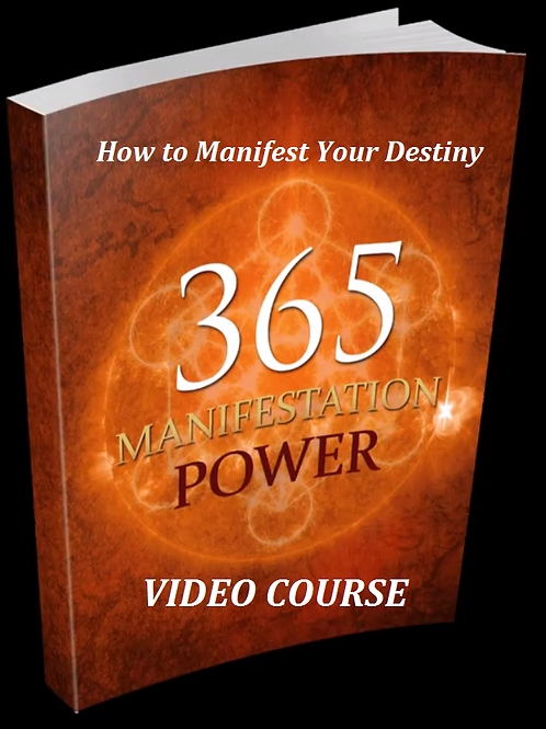 The How to Manifest Your Destiny Video Course