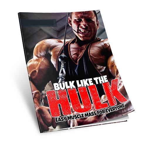 Bulk Like The Hulk eBook