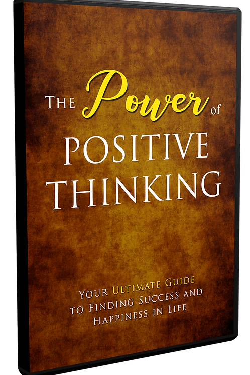 The Power of Positive Thinking V2 eBook
