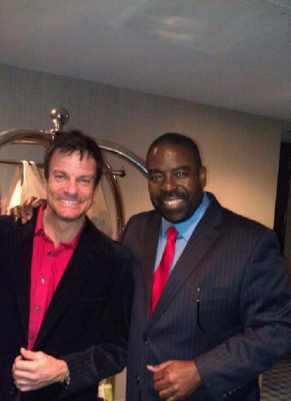 Les Brown and I