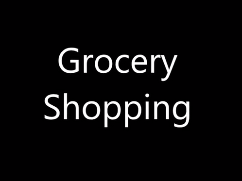The Grocery Shopping Meditation Audio Module