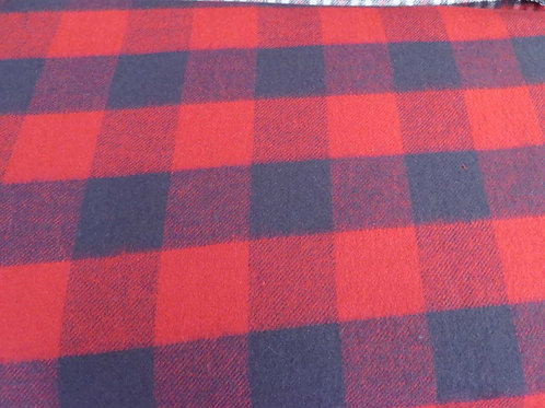 Red and Blue Check - Flannel