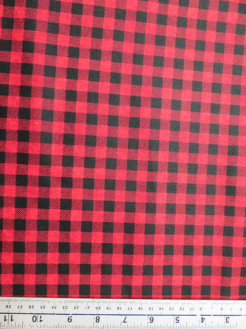 Black and Red check