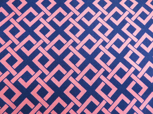 Blue and Pink Square