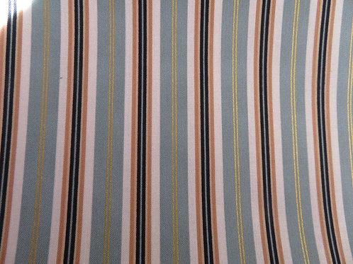 Gold, Black, White & Green stripes