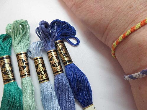 Friendship Bracelet kits (DMC)