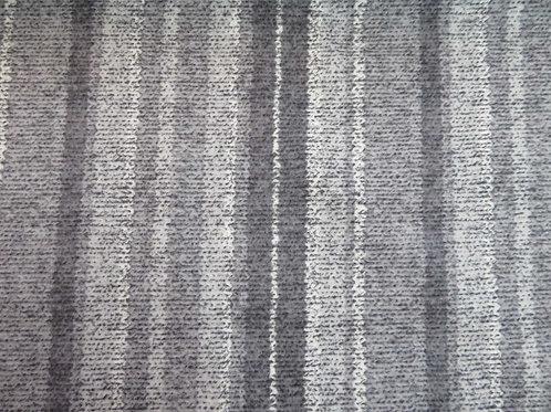 Grey stripe flannell