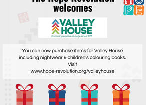 Valley House join The Hope Revolution