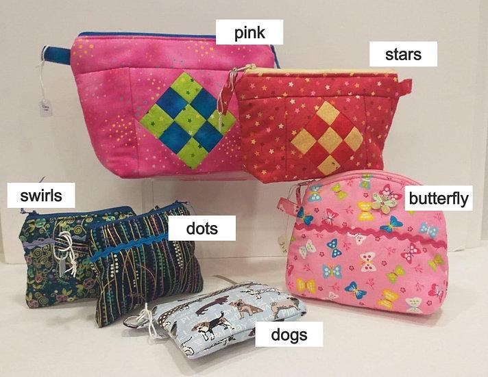 Purses & makeup bags