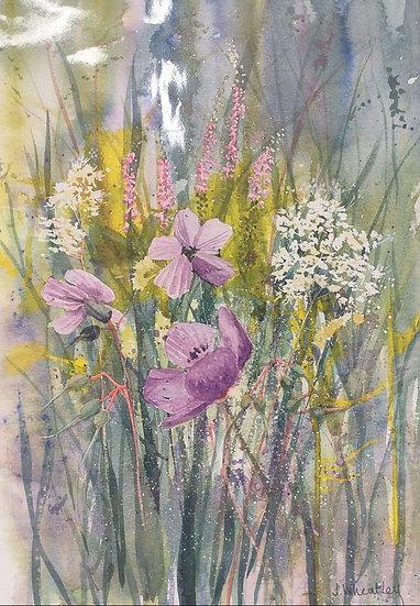 Watercolour Original  ... mounted unframed