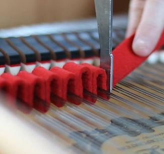 Piano stimmen,Klavierstimmung,Forst,Stimmfilz