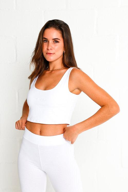 Women's Cycle Shorts (White)