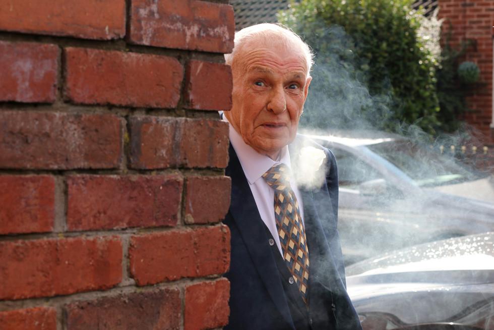 Sneaky cigarette!.jpg
