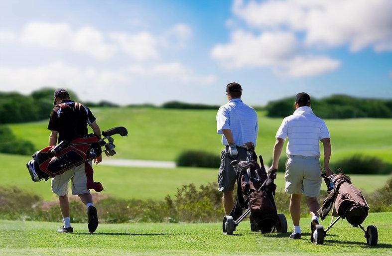 Mens league at Mackinaw Club Golf Course