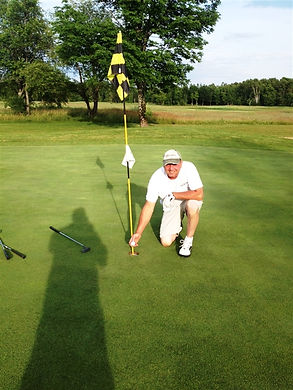 Hole In One by Perry Terrian at Hole 4 at Mackinaw Club Golf Course