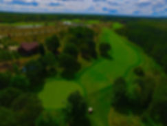 Birds eye view of Mackinaw Club Golf Course