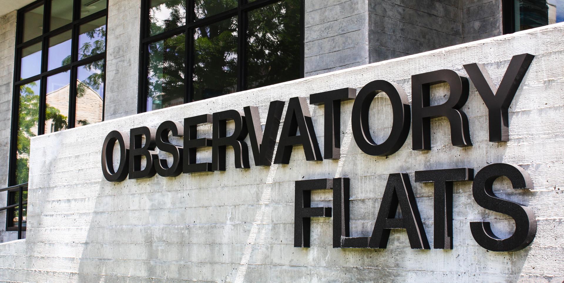 Observatory Flats