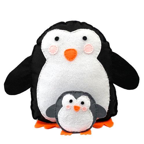 Papa and Baba Penguin