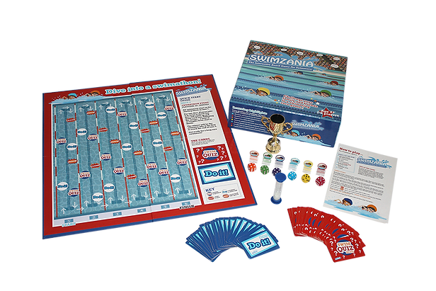 Swimzania Board Game