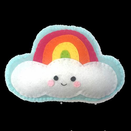 Rainbow Plushie