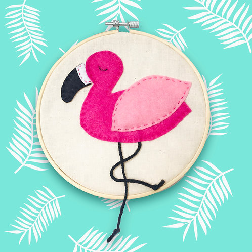 Flamingo Wall Hanger