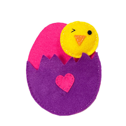 Cheeky chick (in an egg)