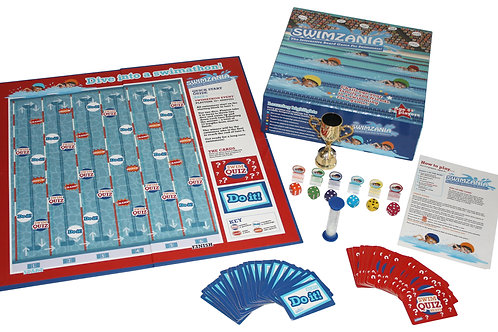 Swimzania Family Board Game