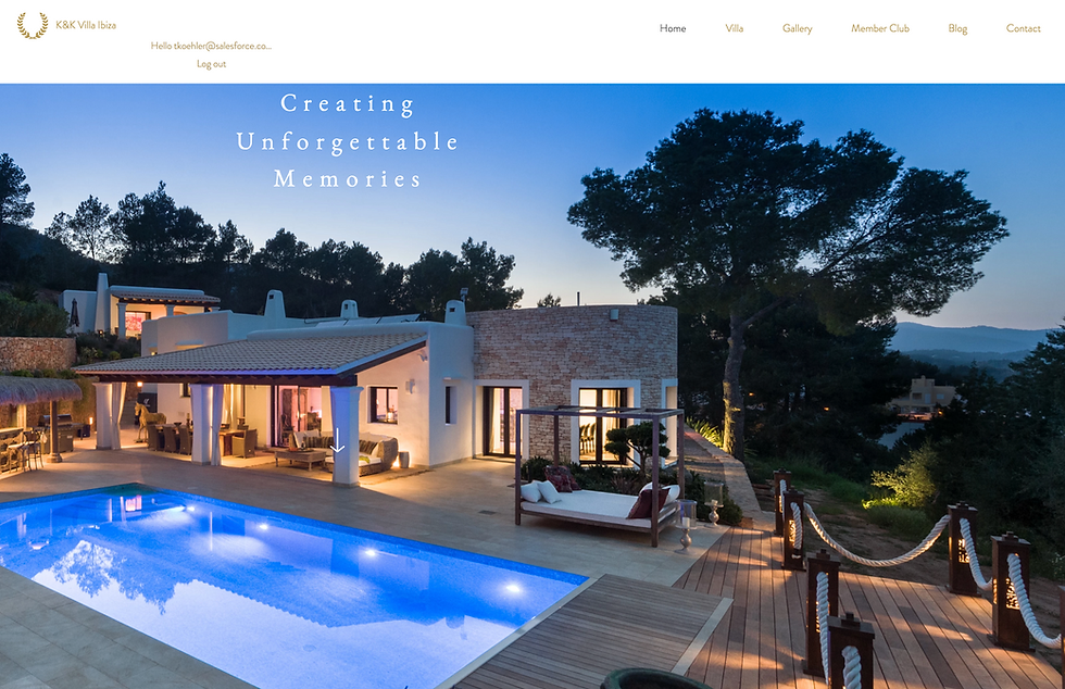 K&K Villa Ibiza Rental