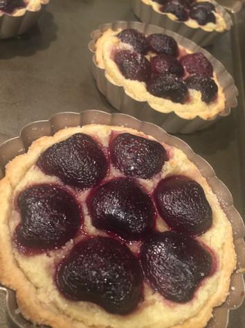 Frangipane Cherry Tarts