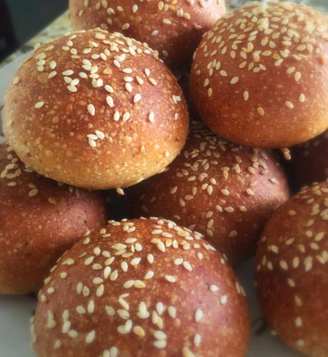 Flaxeed Slider Buns