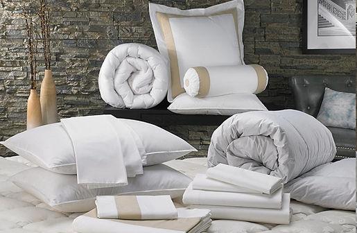 linen pillow bed sheet towel bathrobe