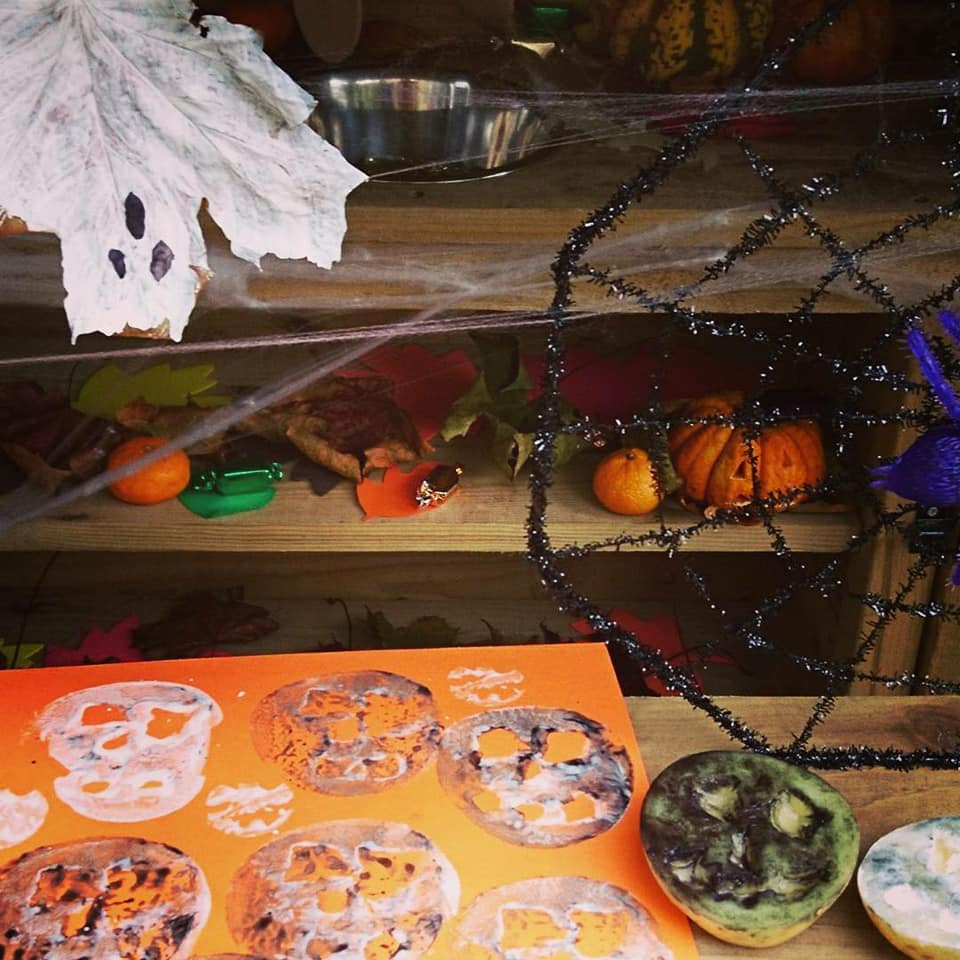 Happy Halloween from The Snug Shepherd Muddy Kitchen