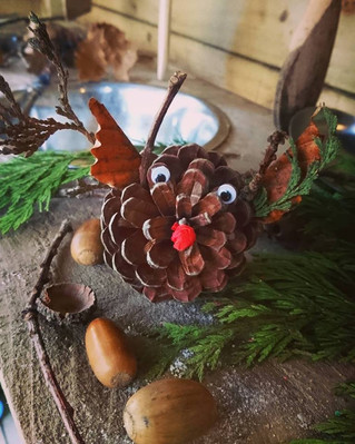 Pinecone characters